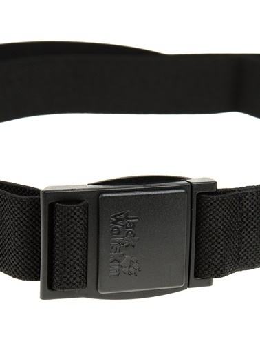 Jack Wolfskin Stretch Belt Erkek Kemeri Jck8001761 Siyah